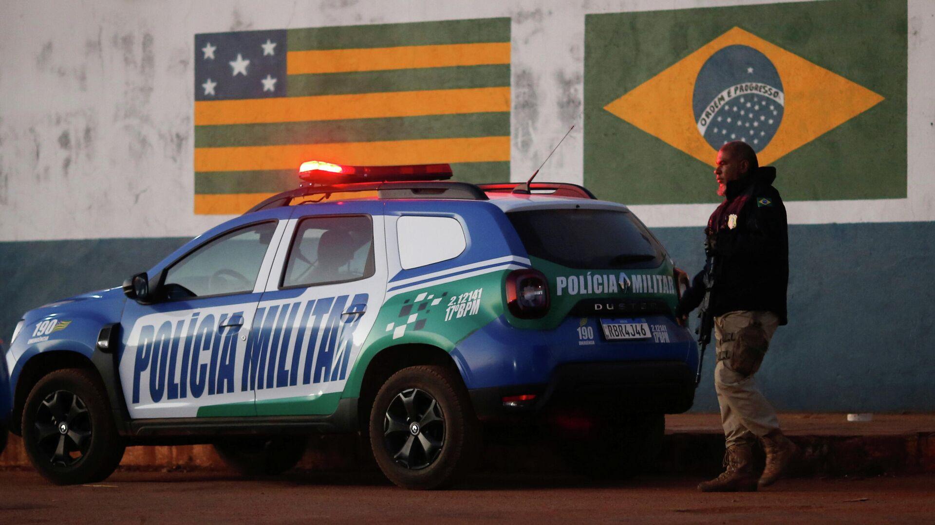 Policía brasileña buscando al presunto asesino Lázaro Barbosa - Sputnik Mundo, 1920, 28.06.2021