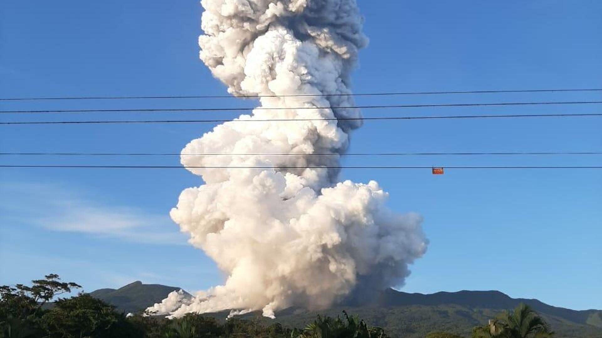 Erupción del volcán Rincón de la Vieja en Costa Rica - Sputnik Mundo, 1920, 29.06.2021