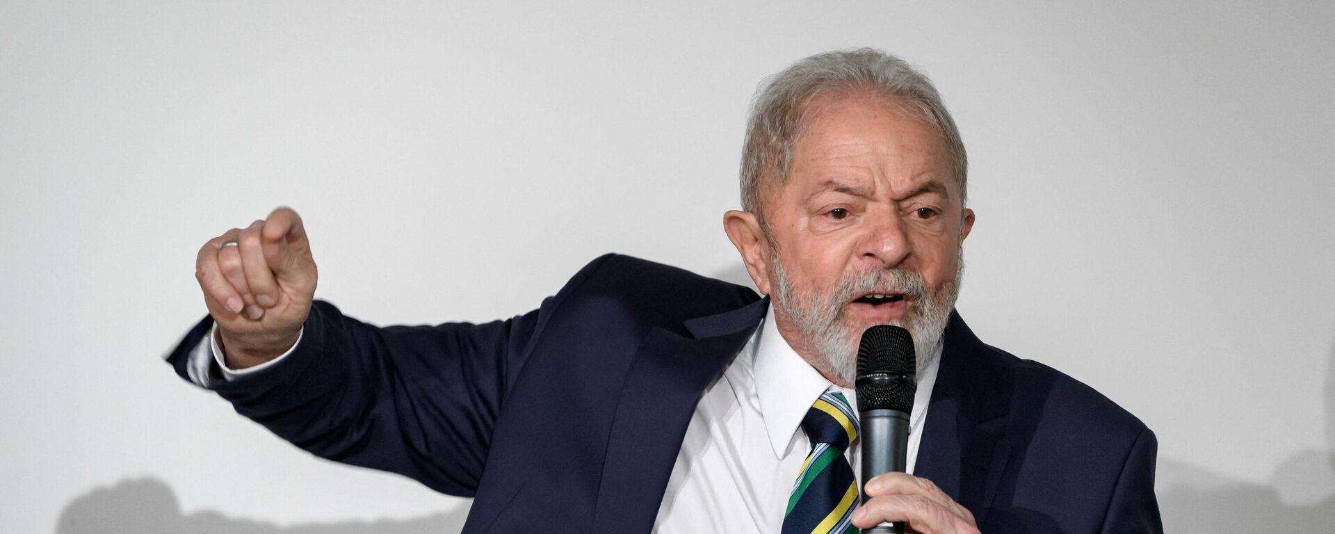 Luiz Inácio Lula da Silva , expresidente de Brasil - Sputnik Mundo, 1920, 29.06.2021