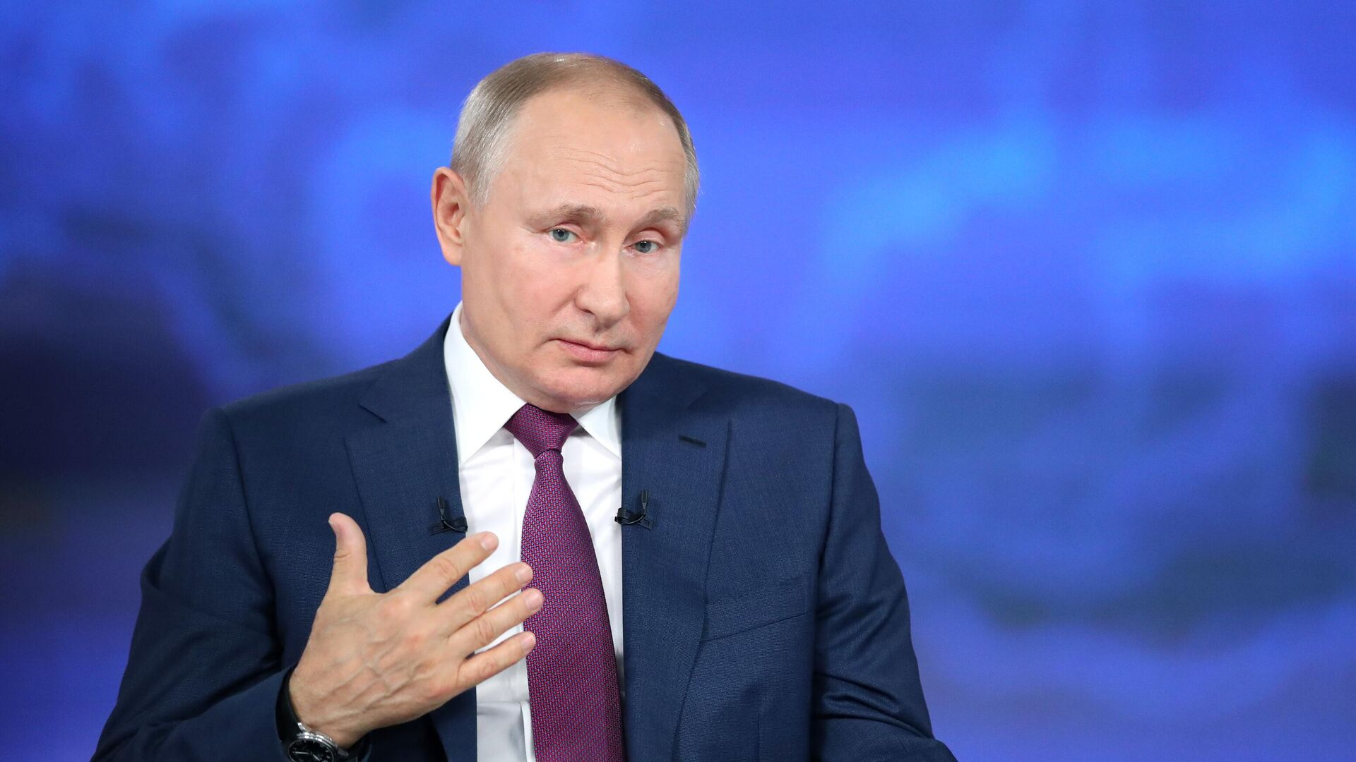 Línea directa con Vladímir Putin 2021 - Sputnik Mundo, 1920, 13.07.2021