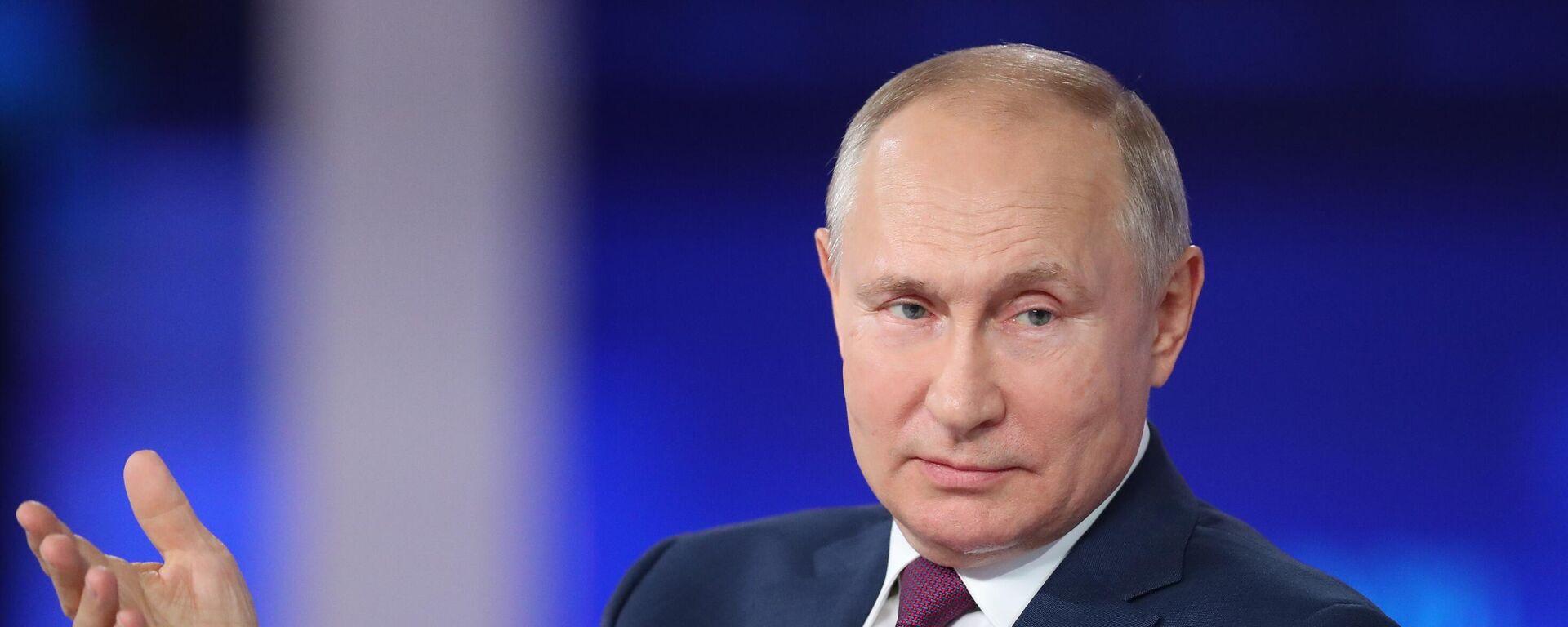 Línea directa con Vladímir Putin 2021 - Sputnik Mundo, 1920, 10.09.2021