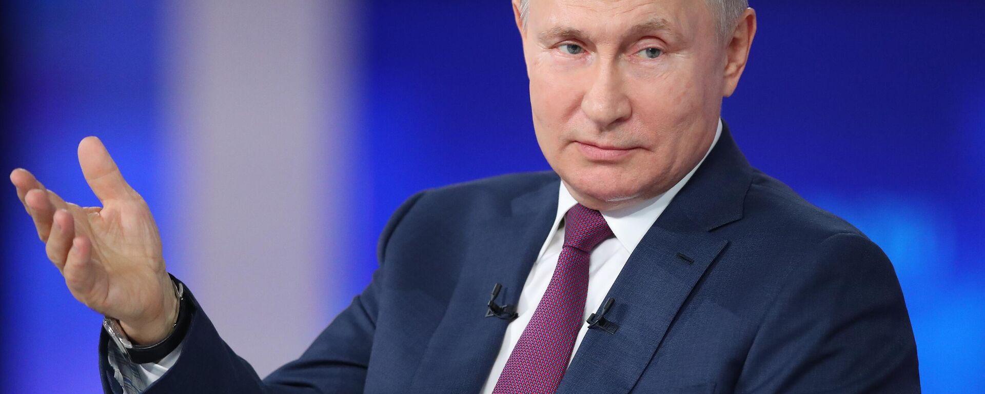 Línea directa con Vladímir Putin 2021 - Sputnik Mundo, 1920, 20.07.2021