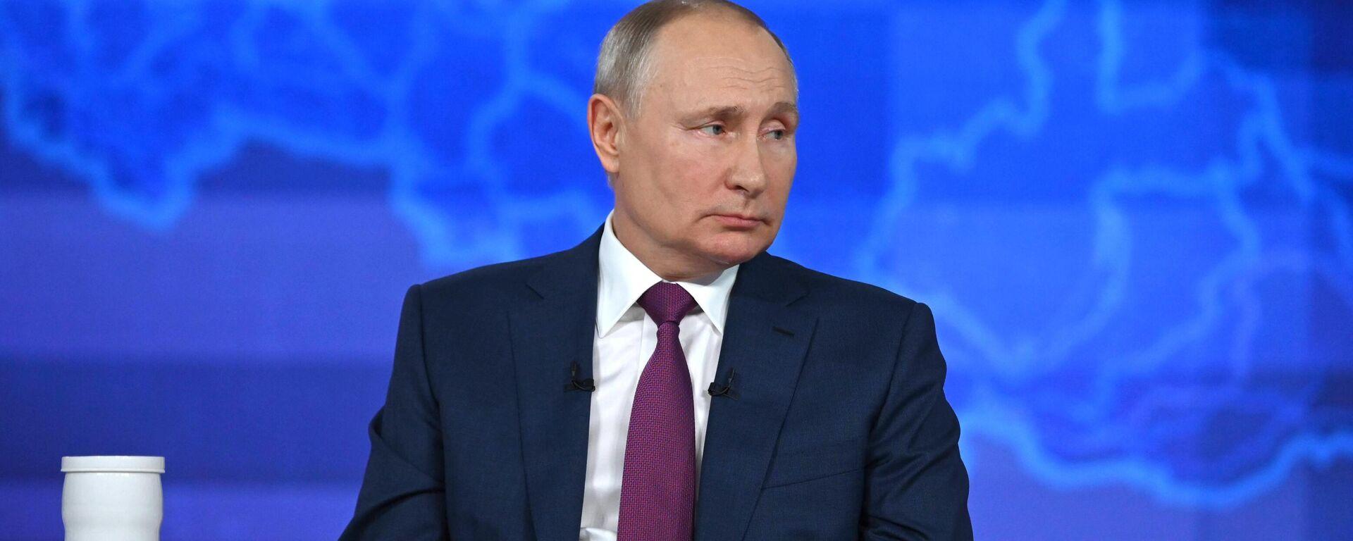 Línea directa con Vladímir Putin 2021 - Sputnik Mundo, 1920, 30.06.2021