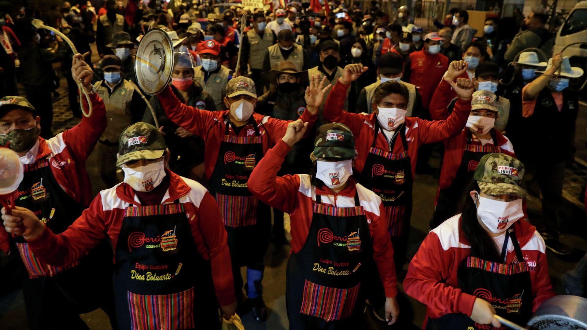 Manifestaciones en Perú - Sputnik Mundo, 1920, 30.06.2021