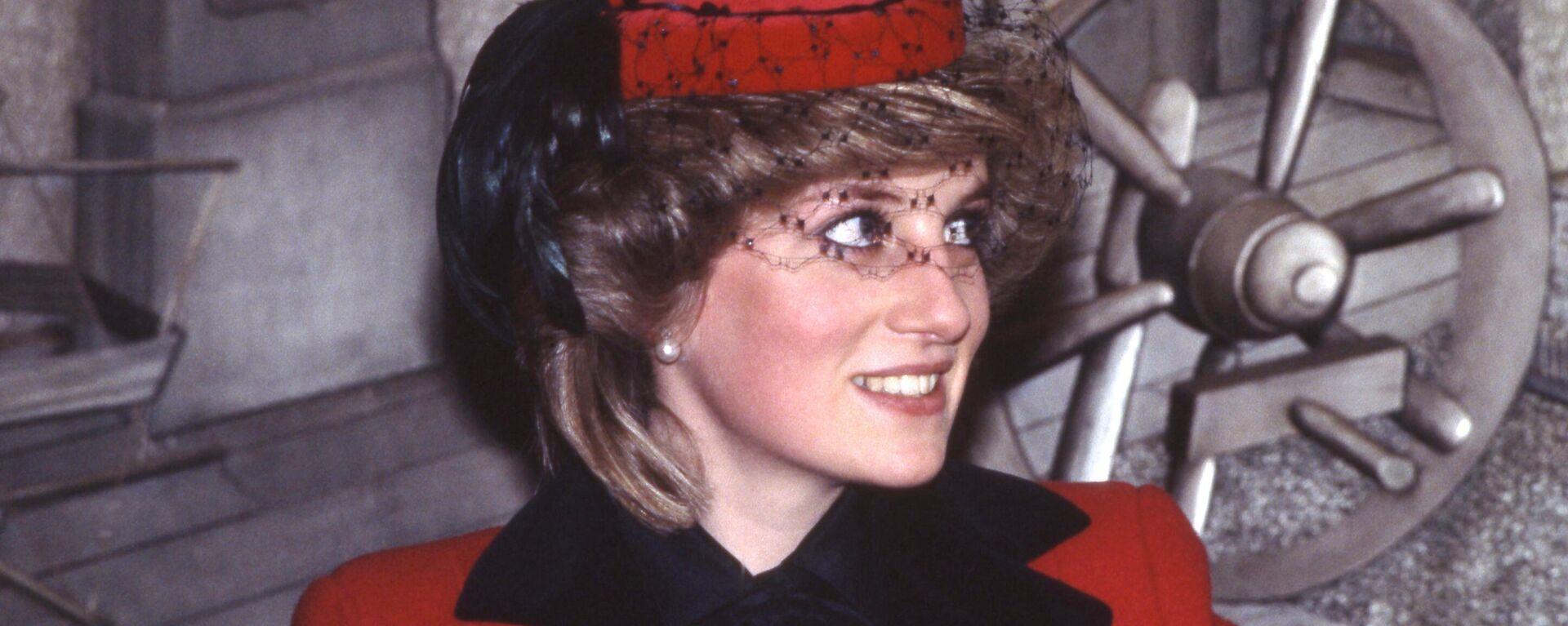 La princesa Diana en 1984 - Sputnik Mundo, 1920, 01.07.2021