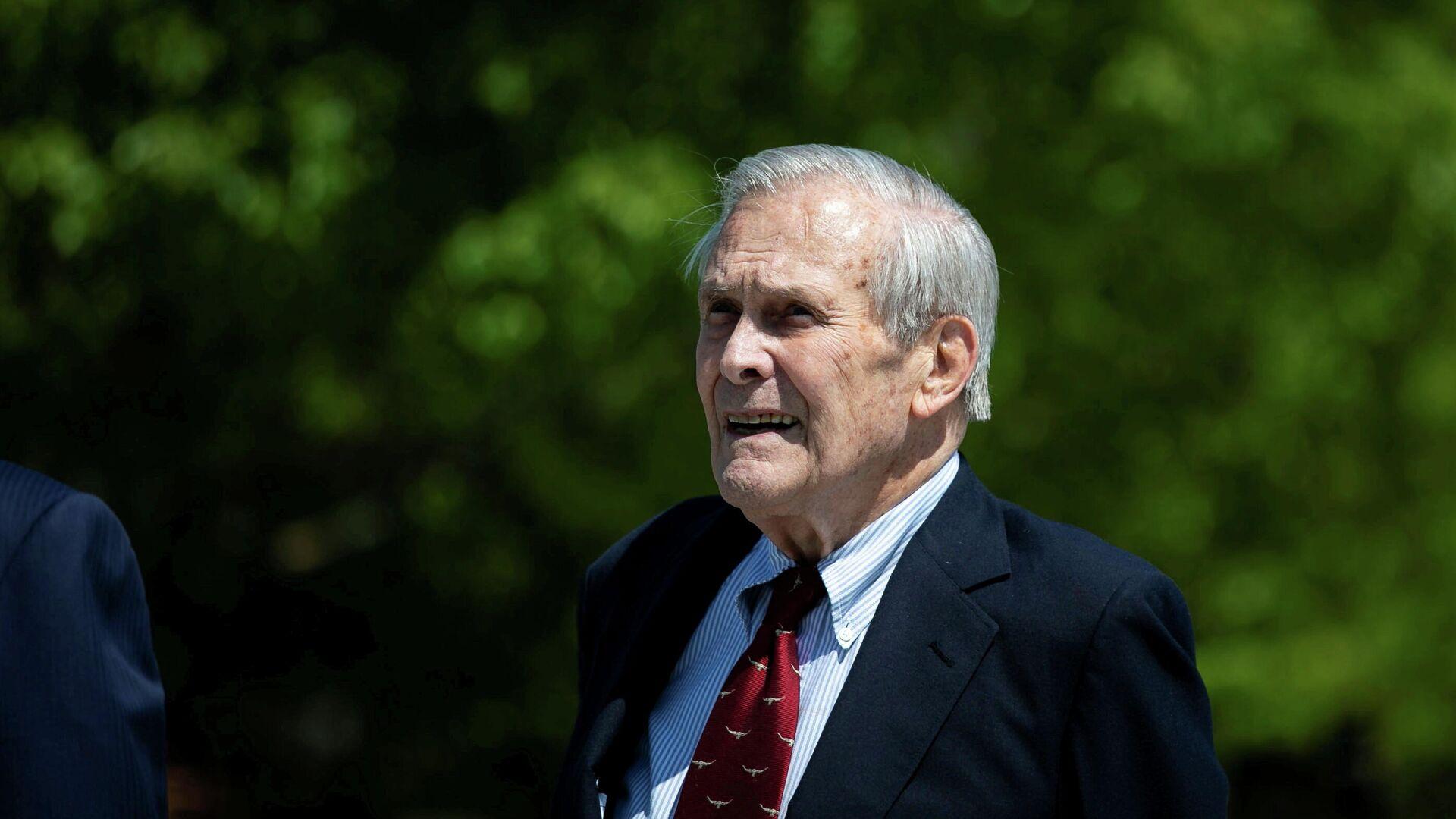 Donald Rumsfeld, exsecretario de Defensa de EEUU - Sputnik Mundo, 1920, 30.06.2021