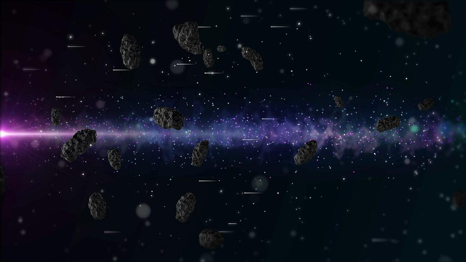 Asteroides (referencial) - Sputnik Mundo, 1920, 30.06.2021