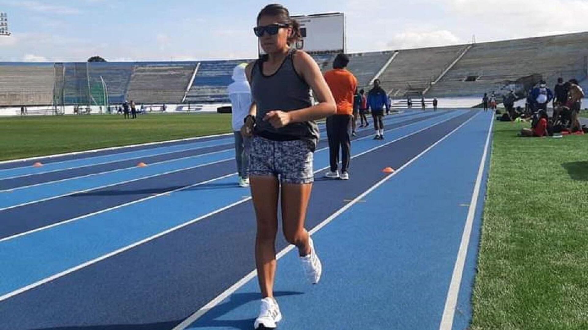 Ángela Castro entrenando - Sputnik Mundo, 1920, 01.07.2021