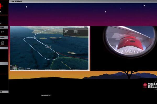 Trayectoria de vuelo del 747 que lanzó el cohete L1 de Virgin Orbit - Sputnik Mundo