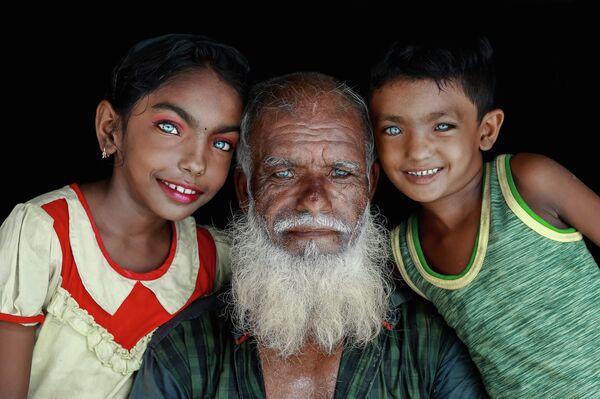 Belleza de ojos. Retrato. Un héroe de nuestro tiempo. Bangladesh. - Sputnik Mundo