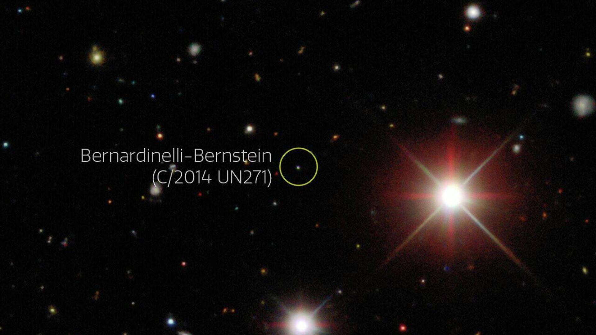 Comet Bernardinelli-Bernstein - Sputnik Mundo, 1920, 01.07.2021