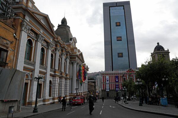La Casa Grande del Pueblo, sede presidencial de 29 pisos construida por Evo Morales - Sputnik Mundo