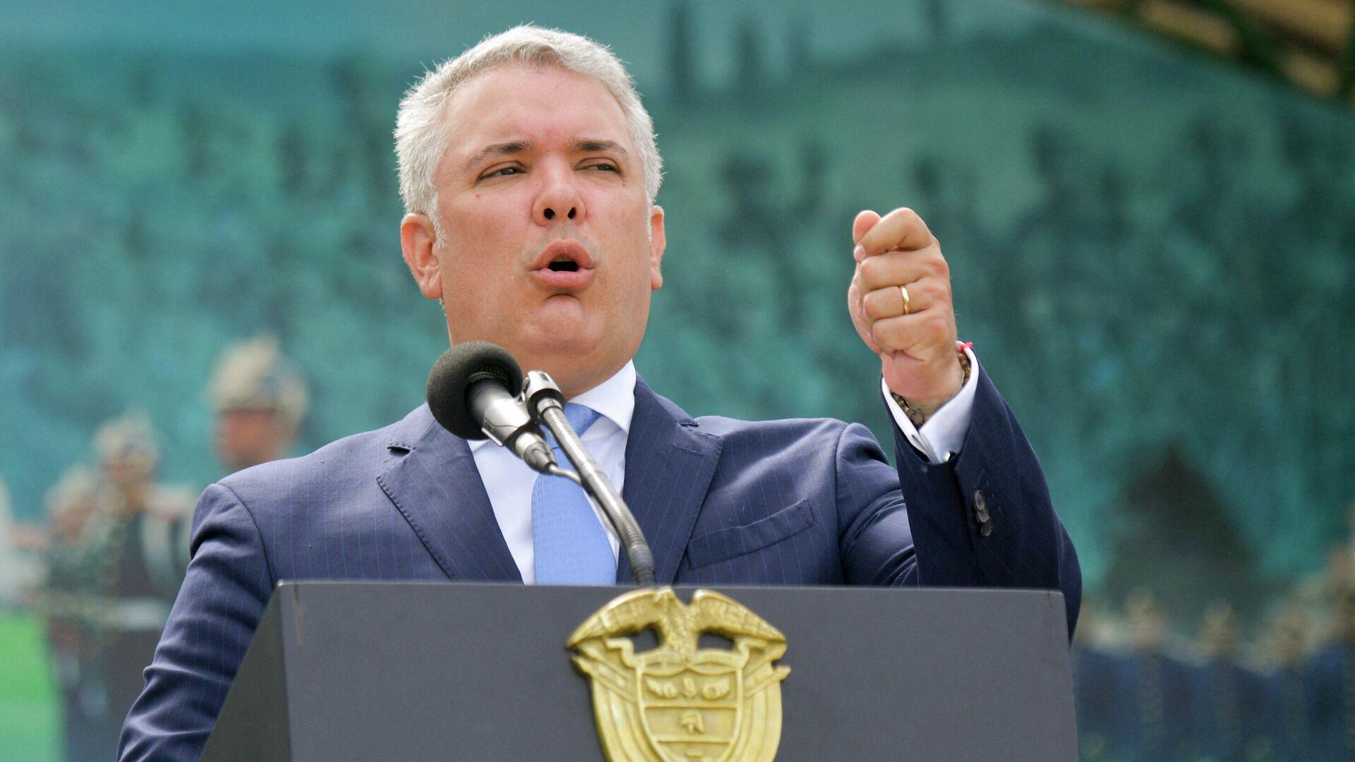 Iván Duque, presidente de Colombia - Sputnik Mundo, 1920, 26.07.2021