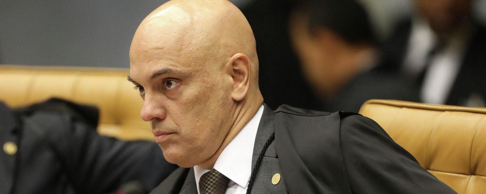 Alexandre de Moraes, juez del Tribunal Supremo Federal de Brasil  - Sputnik Mundo, 1920, 01.07.2021