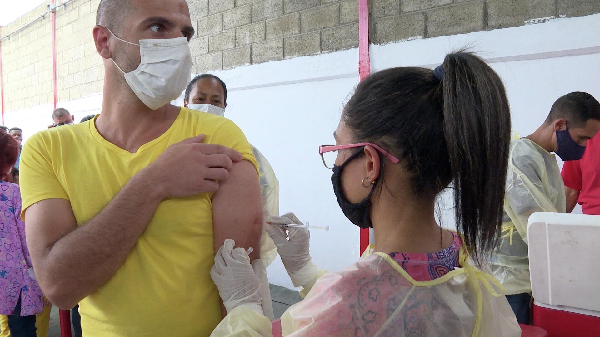 Vacunación en centro penitenciario de Caracas - Sputnik Mundo, 1920, 02.07.2021