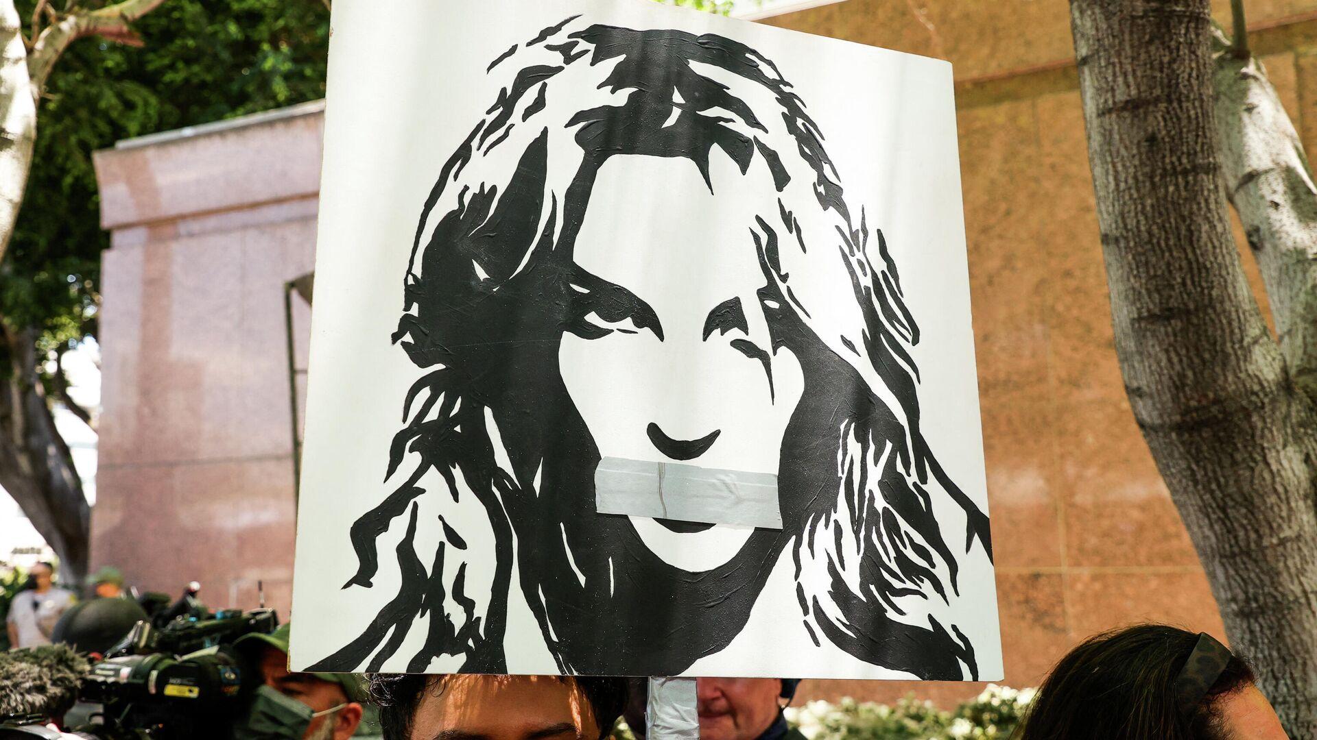 Manifestación a favor de la liberación de Britney Spears en Los Ángeles, EEUU - Sputnik Mundo, 1920, 02.07.2021