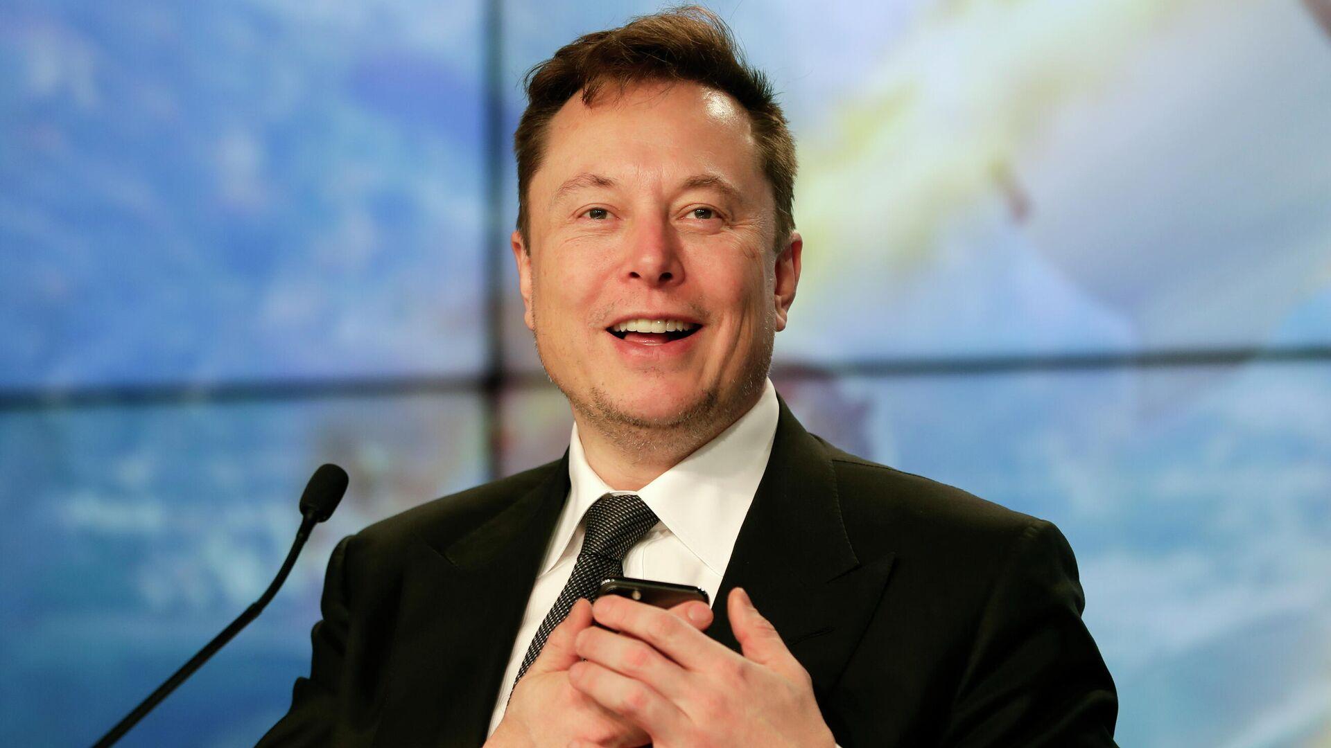 Elon Musk, CEO de Tesla y SpaceX - Sputnik Mundo, 1920, 02.07.2021
