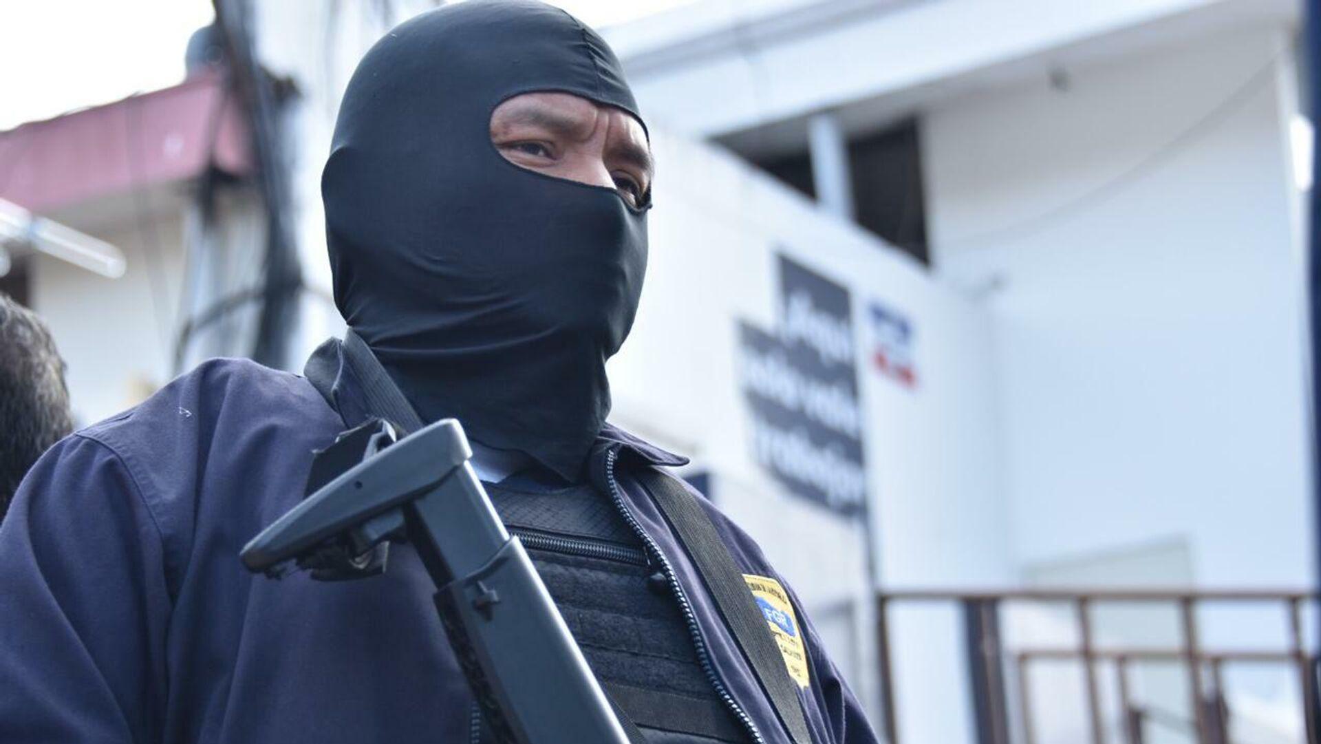 Policía de El Salvador - Sputnik Mundo, 1920, 02.07.2021