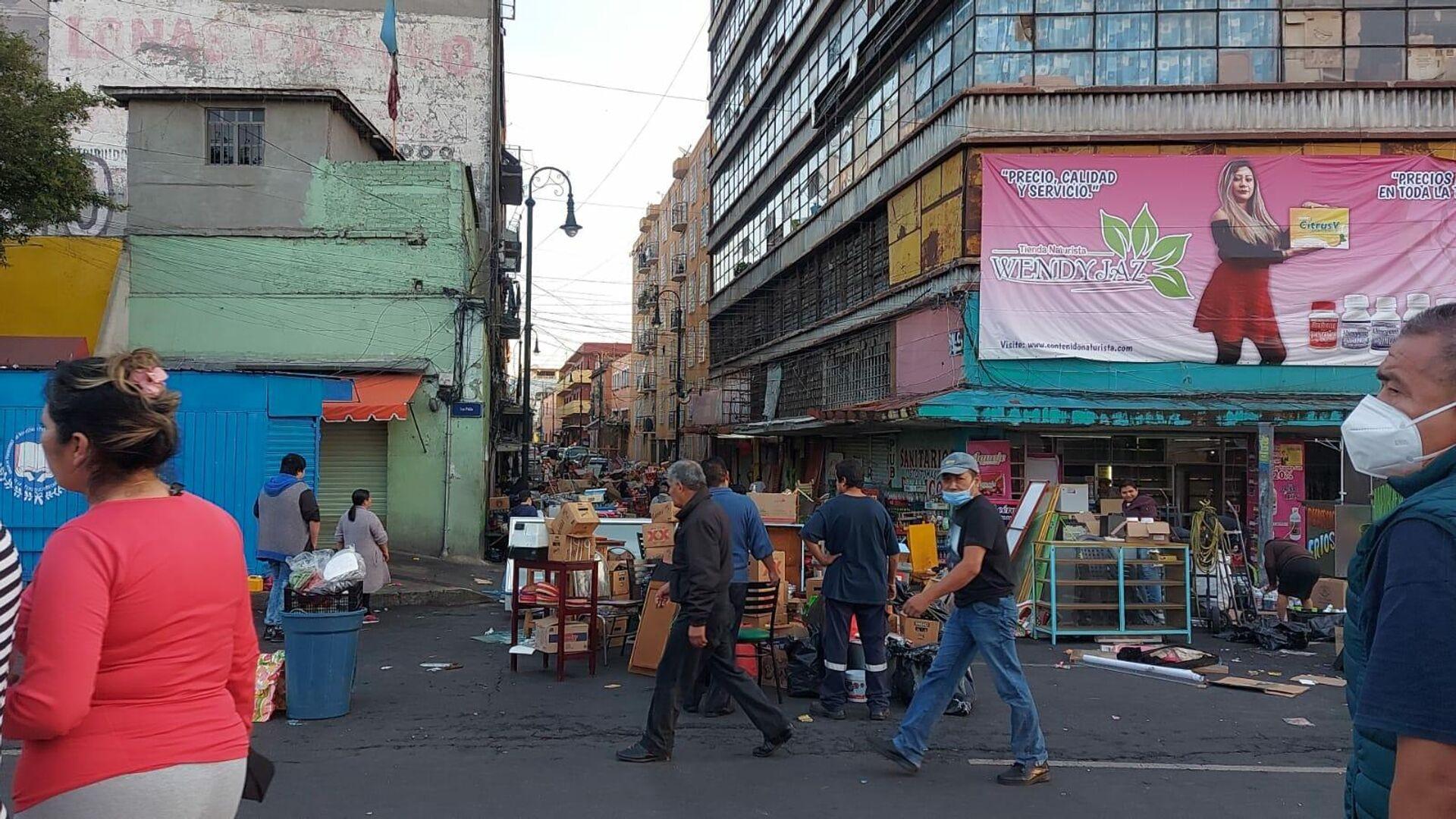 Desalojos en Ciudad de México - Sputnik Mundo, 1920, 02.07.2021