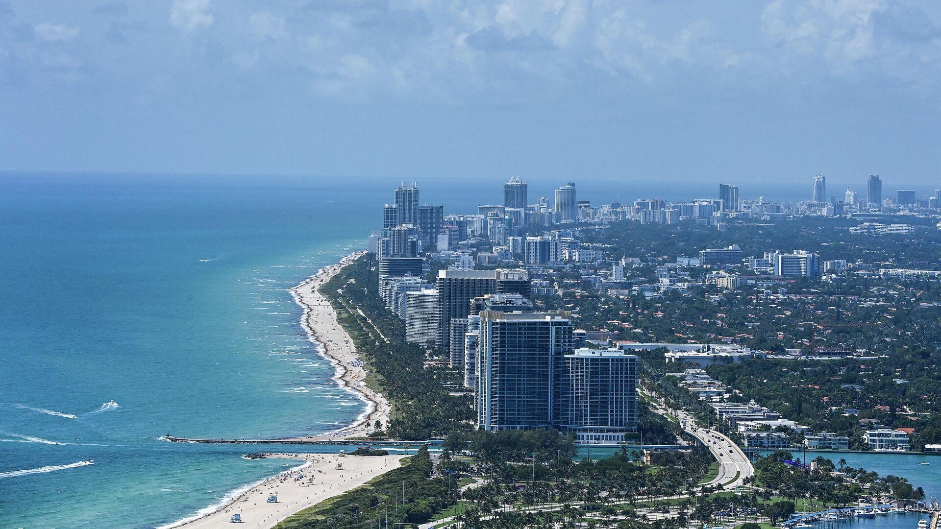Vista aerea de North Miami Beach, EEUU - Sputnik Mundo, 1920, 02.07.2021