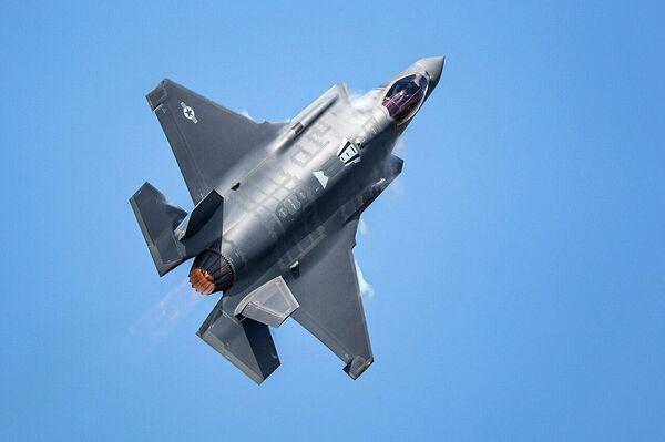 Caza estadounidense F-35A - Sputnik Mundo