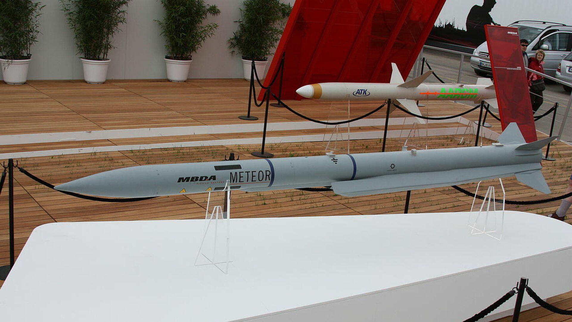Misil aire-aire 'Meteor' - Sputnik Mundo, 1920, 03.07.2021