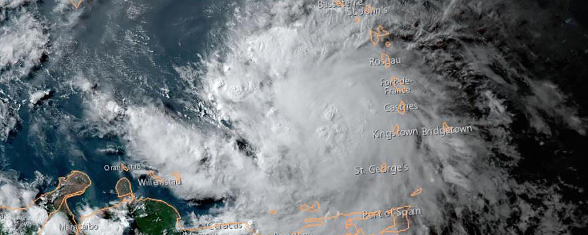 La tormenta tropical Elsa - Sputnik Mundo, 1920, 04.07.2021