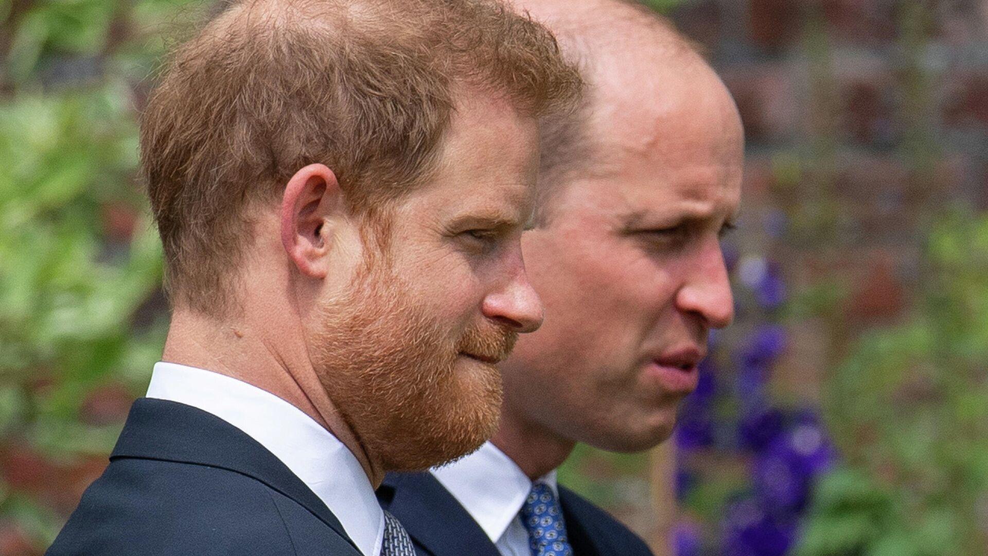 Los hermanos Harry y William, príncipes del Reino Unido - Sputnik Mundo, 1920, 04.07.2021