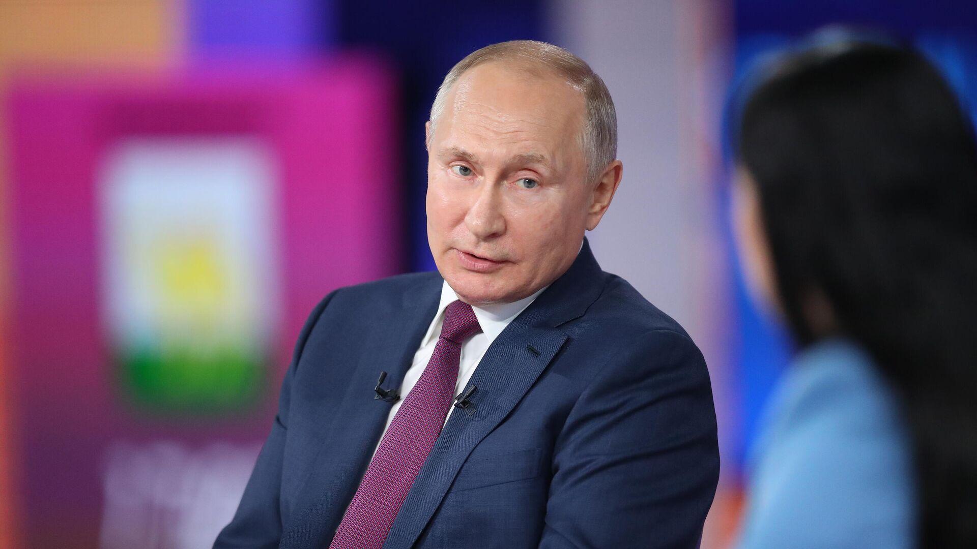 Vladímir Putin, presidente de Rusia - Sputnik Mundo, 1920, 01.09.2021