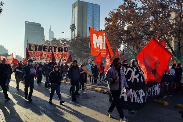 Avanza la marcha por la Alameda  - Sputnik Mundo