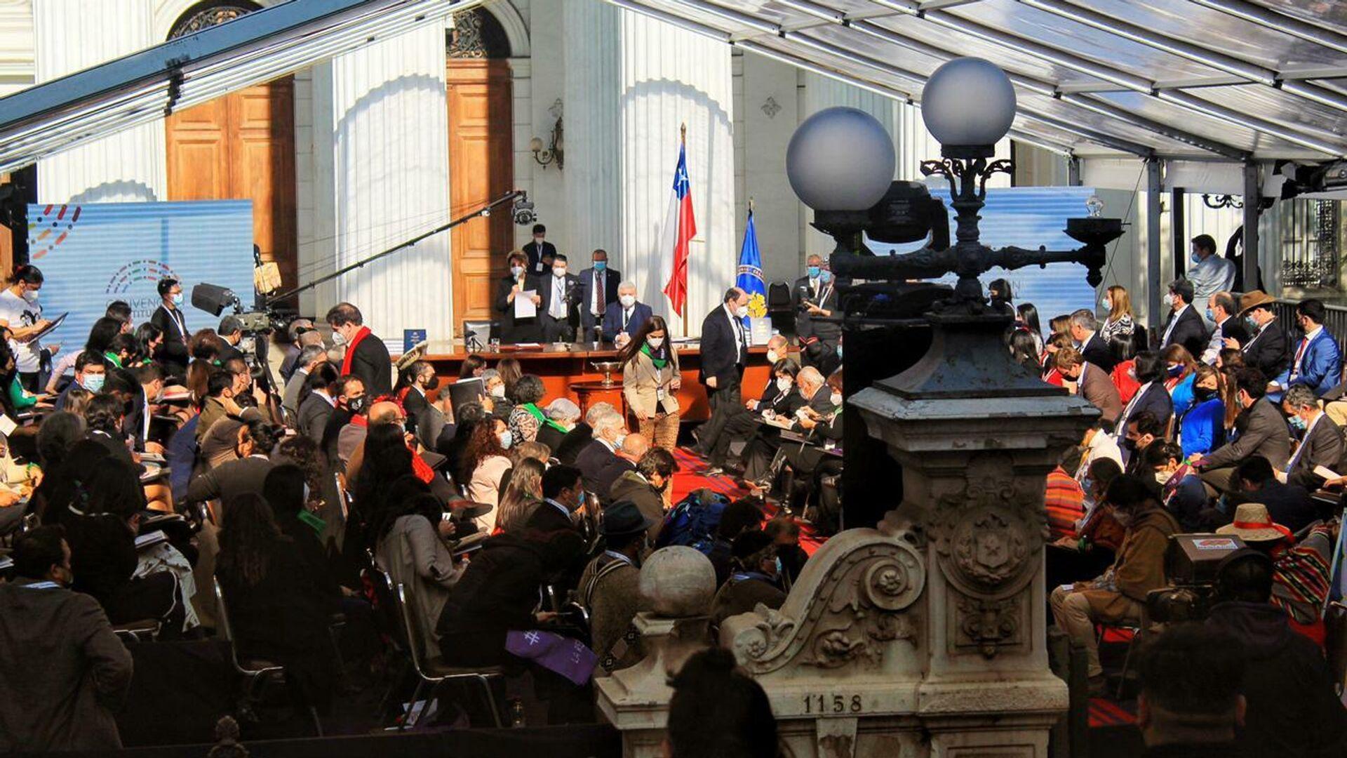 Inicio de la Convención Constituyente  - Sputnik Mundo, 1920, 07.09.2021