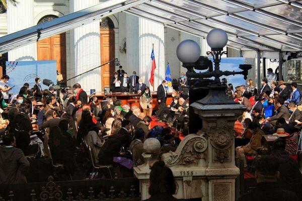 Inicio de la Convención Constituyente  - Sputnik Mundo