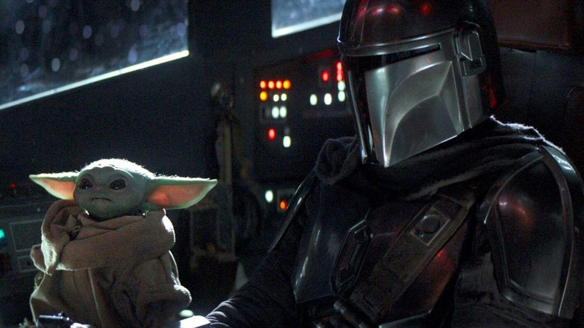 Baby Yoda y Mando en The Mandalorian, la serie de Star Wars - Sputnik Mundo, 1920, 05.07.2021