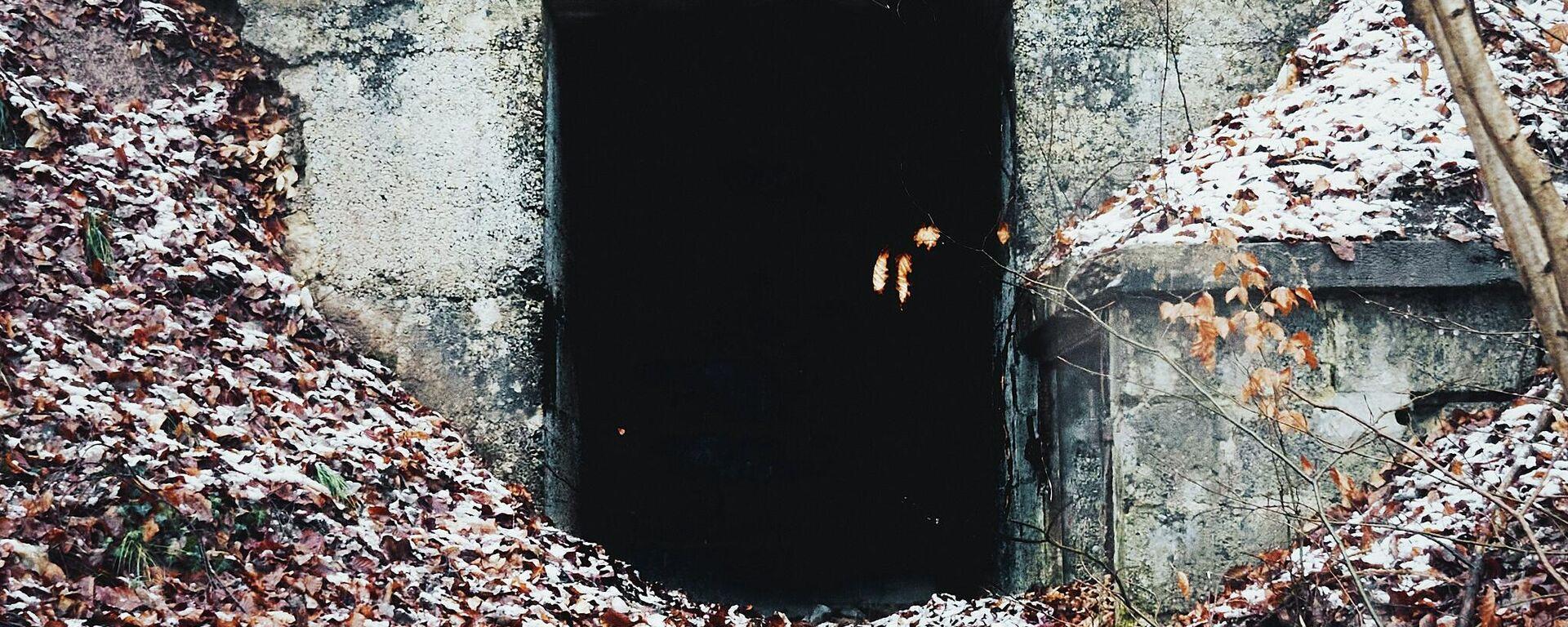 La entrada de un búnker (imagen ilustrativa) - Sputnik Mundo, 1920, 05.07.2021