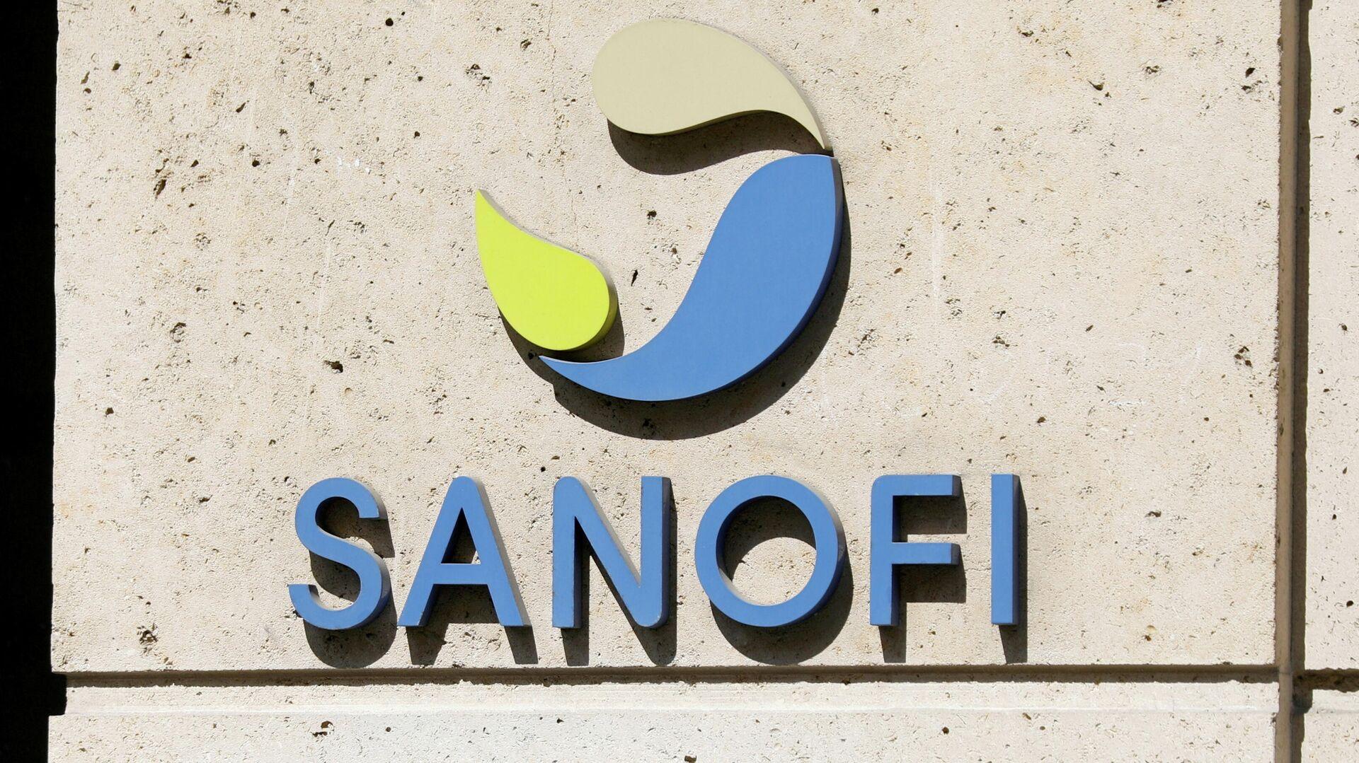 Logo del laboratorio Sanofi - Sputnik Mundo, 1920, 06.07.2021