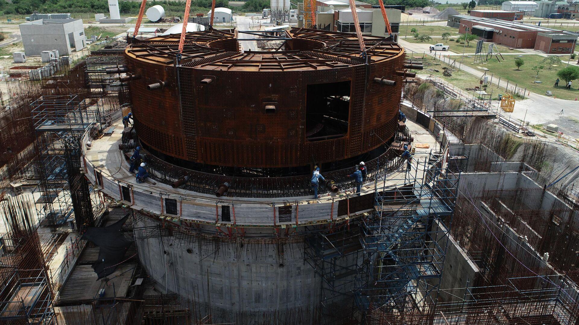 El reactor de baja potencia CAREM - Sputnik Mundo, 1920, 06.07.2021