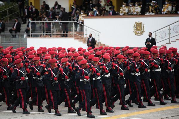 Así celebró la capital venezolana una de las fiesta patrioticas más importantes. - Sputnik Mundo