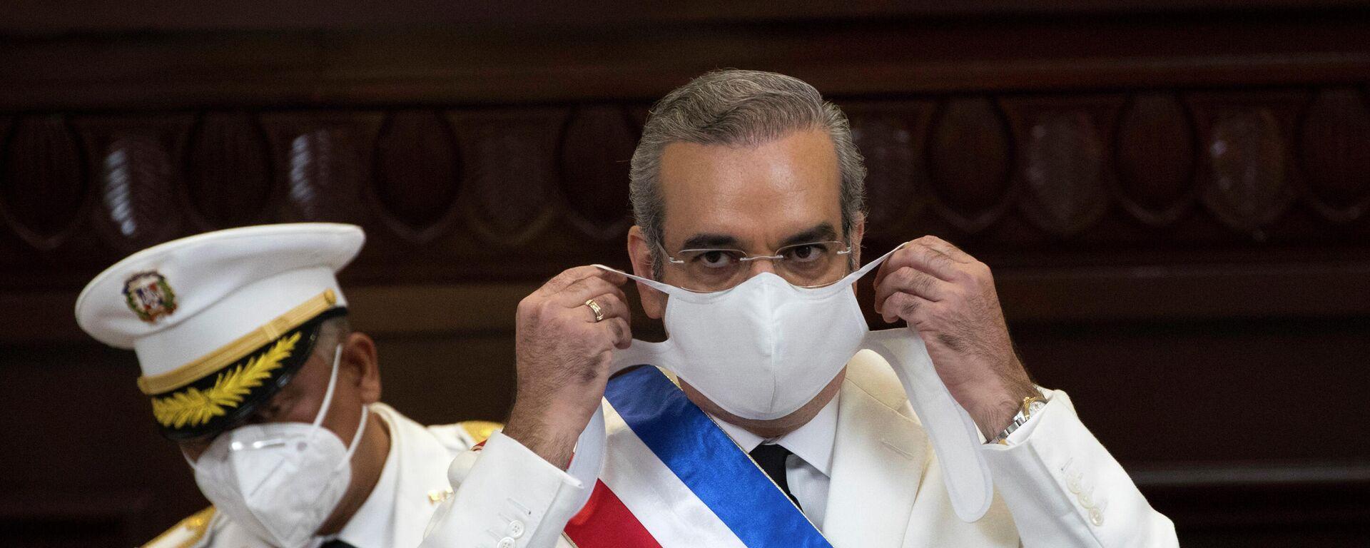 Luis Abinader, presidente de la República Dominicana - Sputnik Mundo, 1920, 07.07.2021