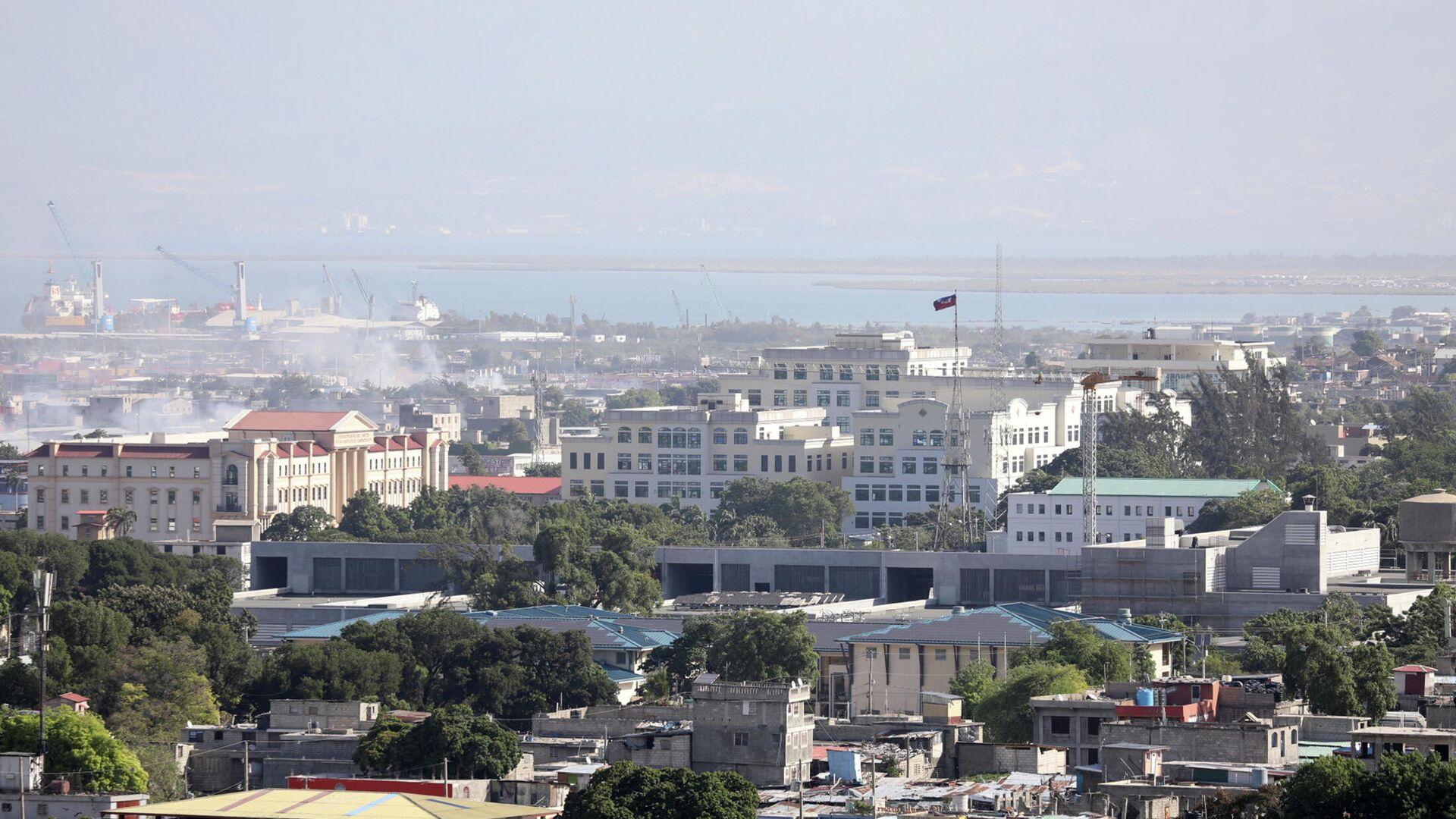Palacio presidencial en Puerto Príncipe, Haití - Sputnik Mundo, 1920, 07.07.2021