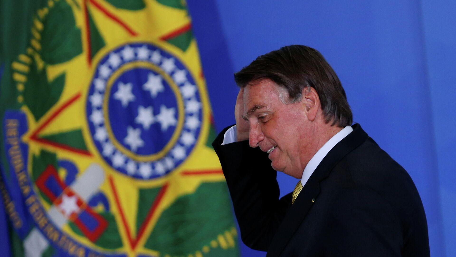 Jair Bolsonaro, presidente de Brasil - Sputnik Mundo, 1920, 07.07.2021