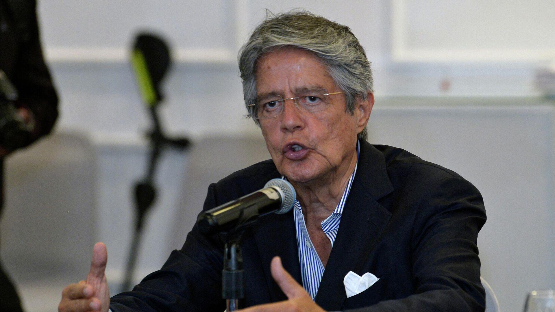 Guillermo Lasso, presidente de Ecuador - Sputnik Mundo, 1920, 16.07.2021