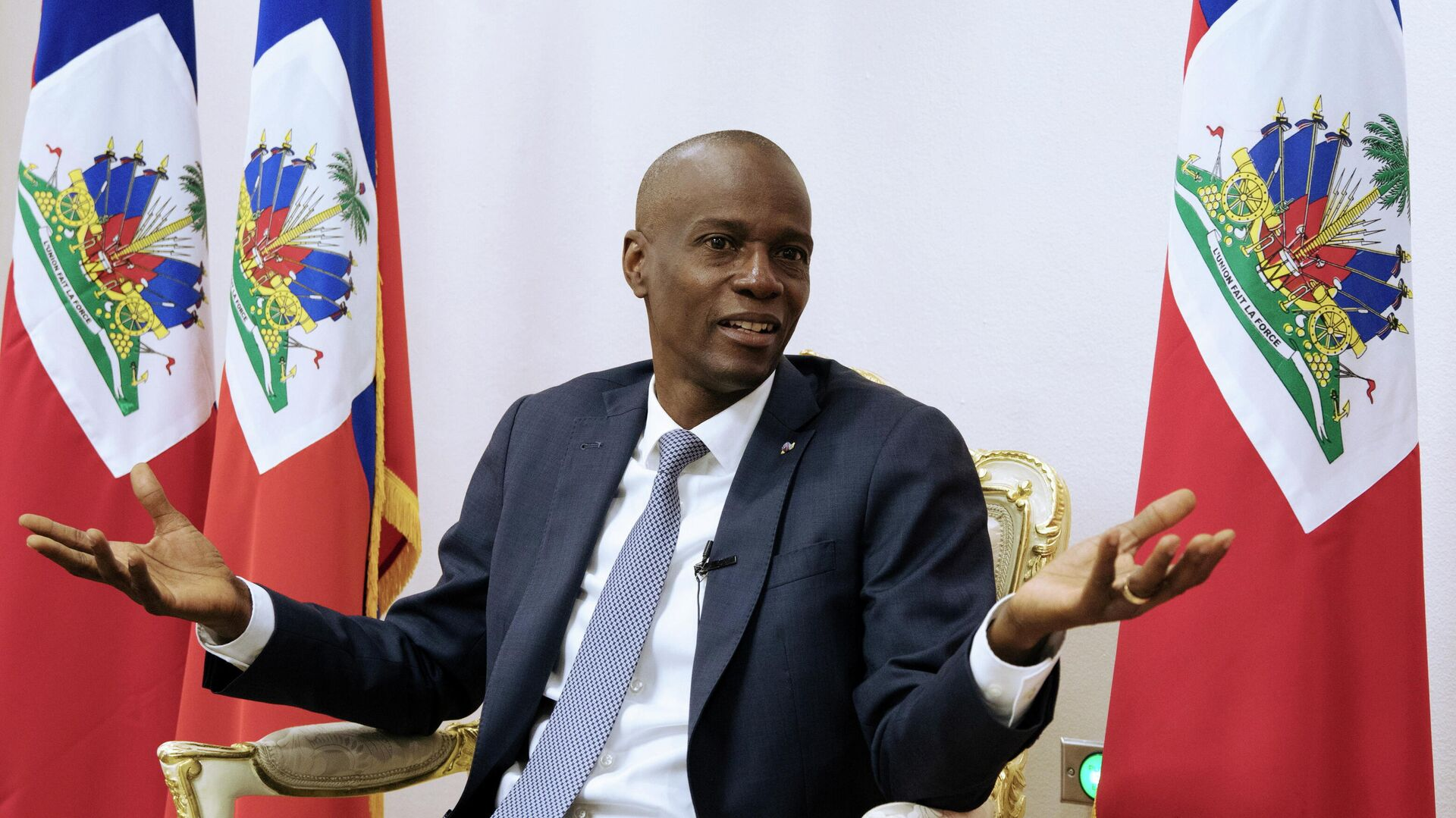 Jovenel Moise, el trágico final de un presidente que no pudo evitar el caos  en Haití - 07.07.2021, Sputnik Mundo