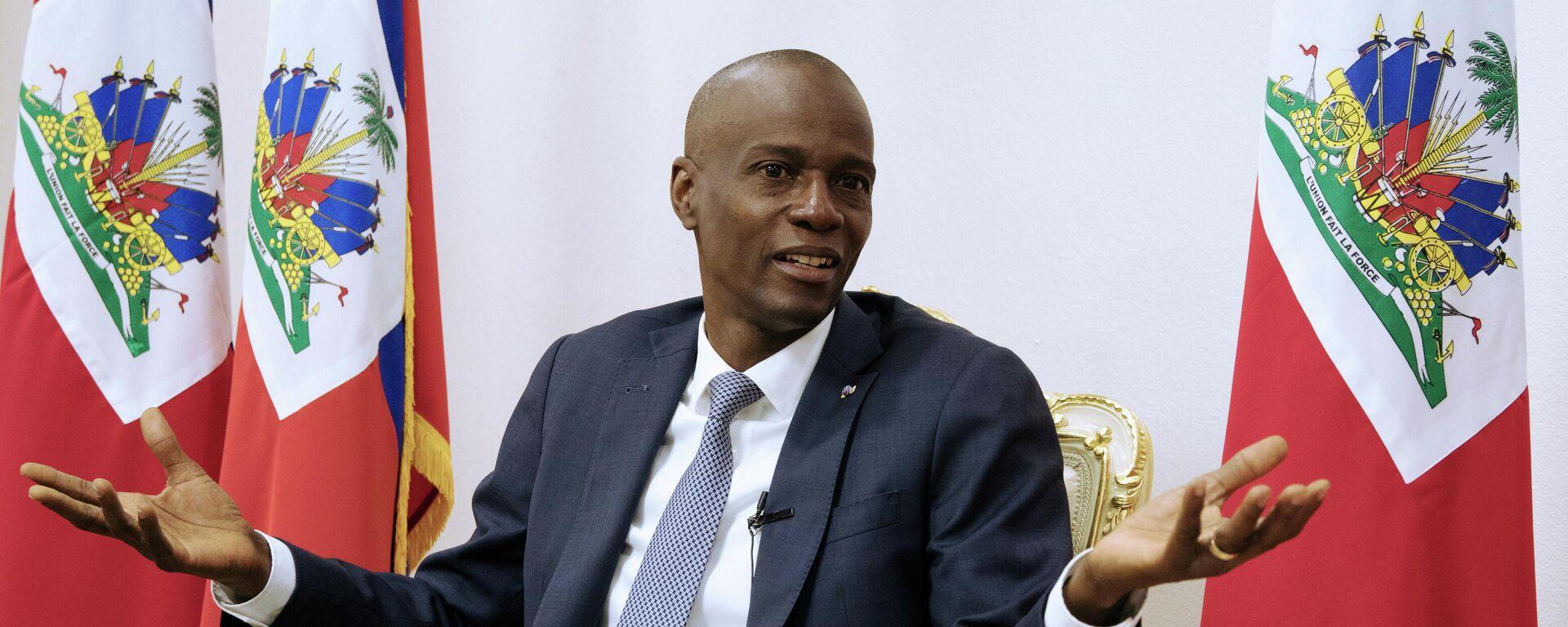 Jovenel Moise, expresidente de Haití - Sputnik Mundo, 1920, 16.07.2021