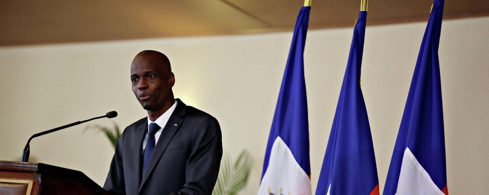 Jovenel Moise, expresidente de Haití - Sputnik Mundo, 1920, 07.07.2021