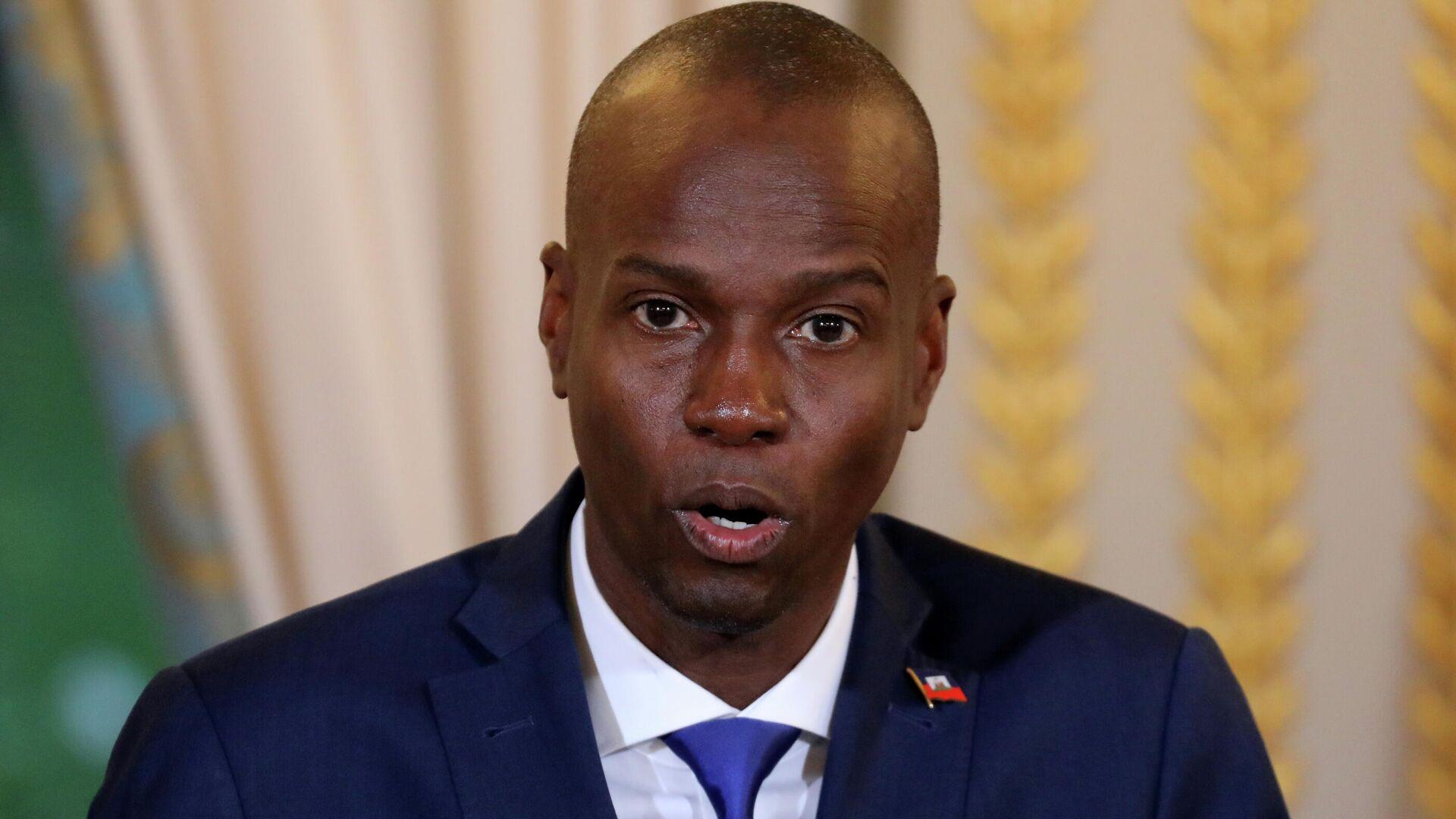 Jovenel Moise, expresidente de Haití - Sputnik Mundo, 1920, 08.07.2021