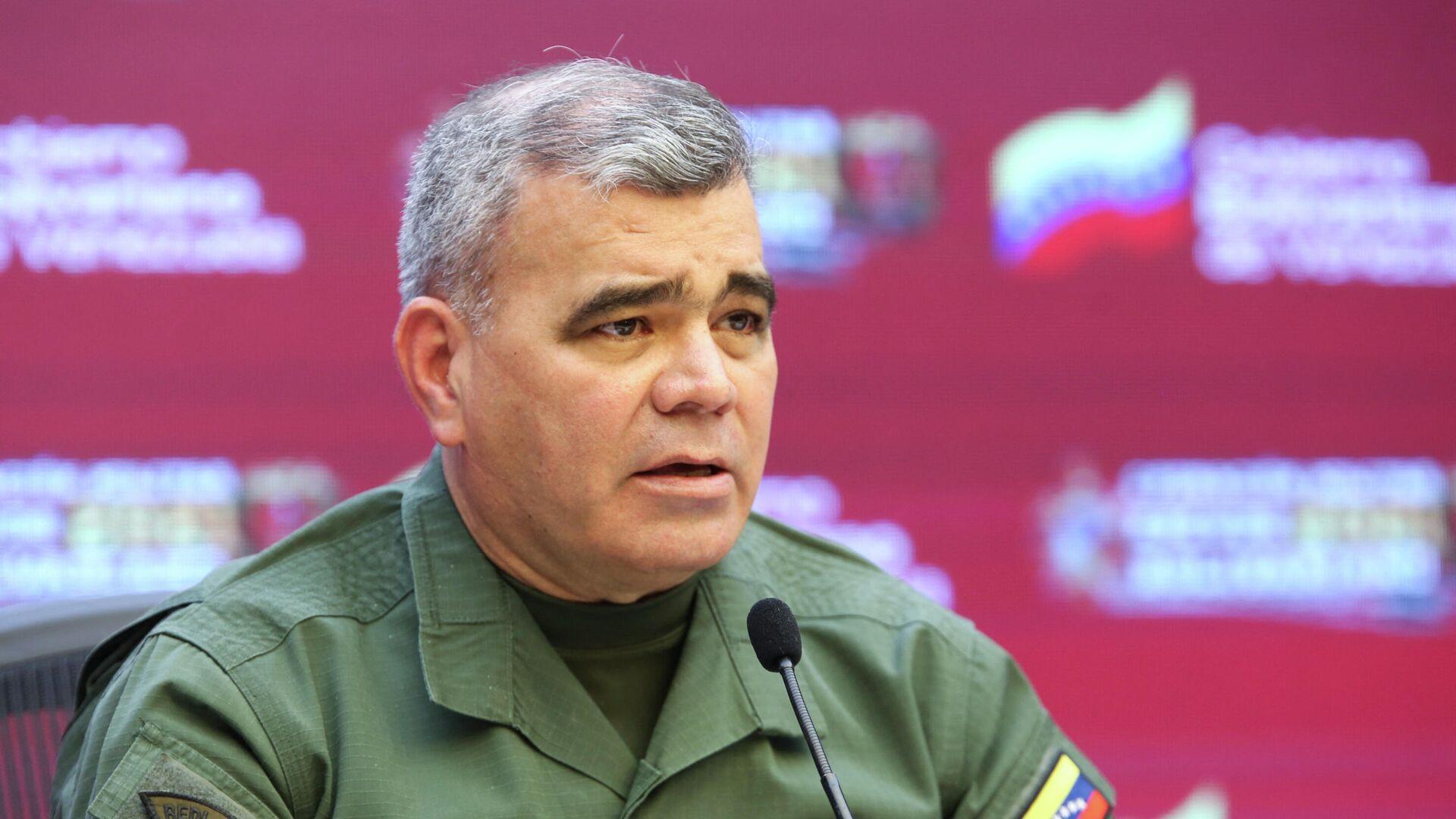 Vladimir Padrino López, ministro de Defensa de Venezuela - Sputnik Mundo, 1920, 08.07.2021