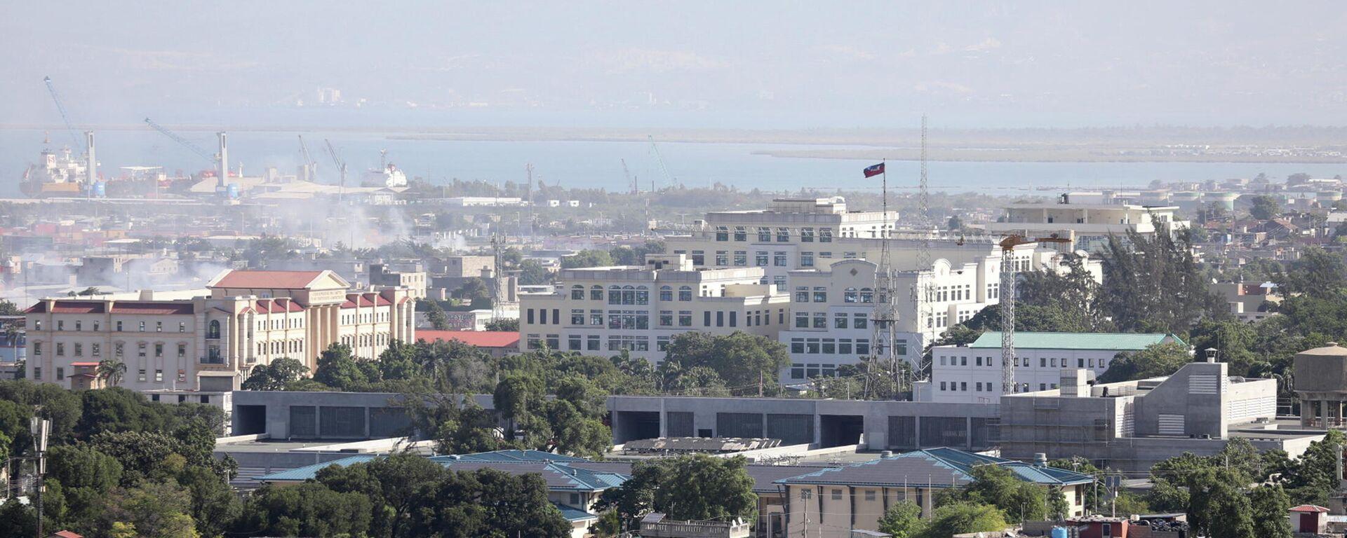 Palacio Presidencial de Puerto Príncipe, Haití - Sputnik Mundo, 1920, 08.07.2021