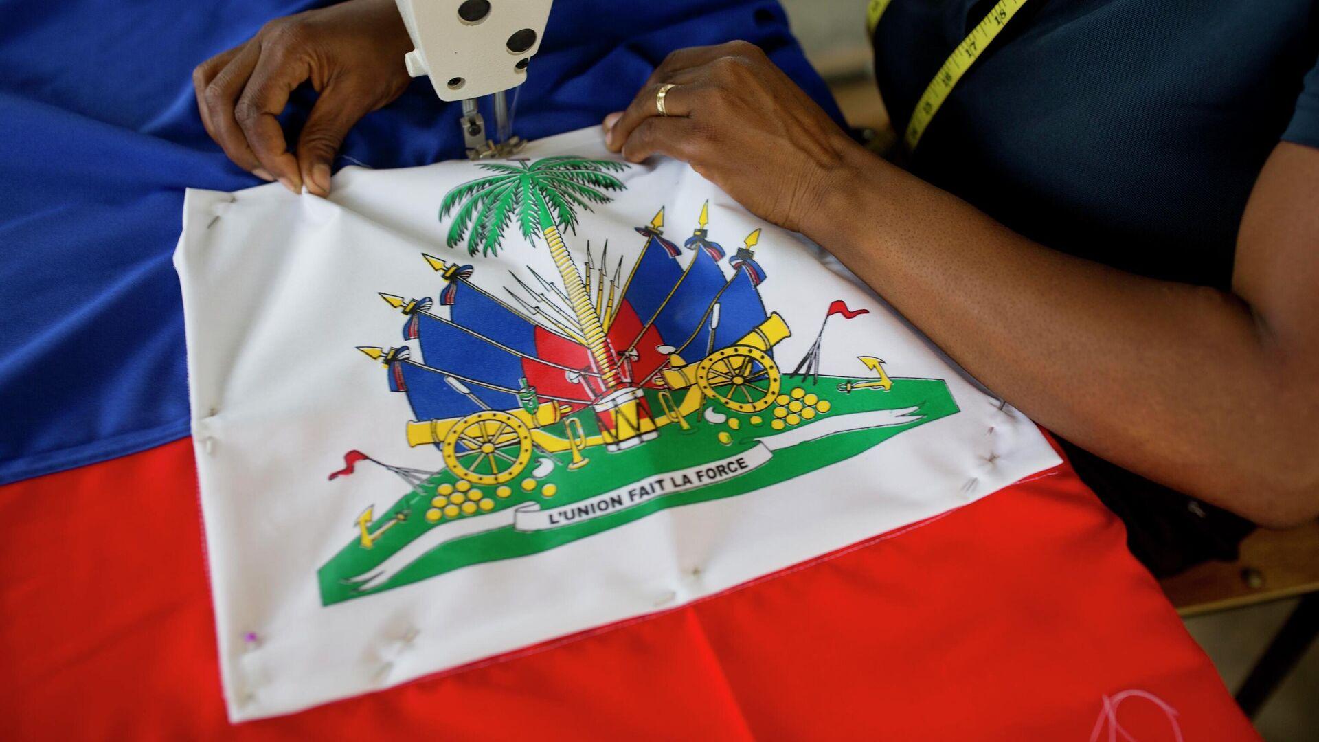 La bandera de Haití - Sputnik Mundo, 1920, 07.07.2021