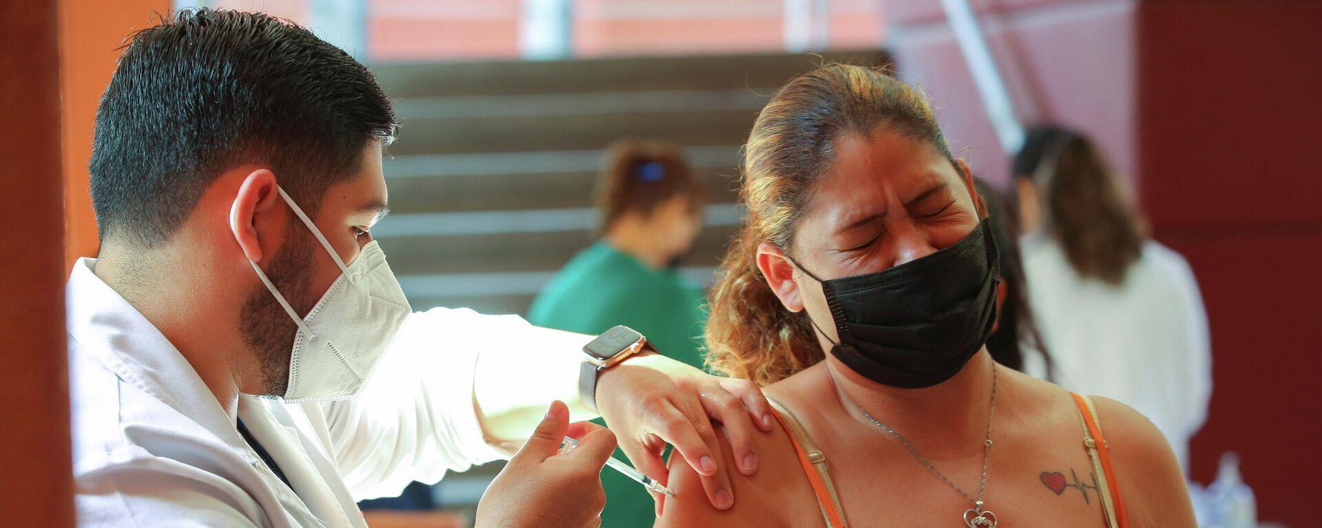 Vacunación contra el coronavirus en la frontera México-EEUU - Sputnik Mundo, 1920, 08.07.2021