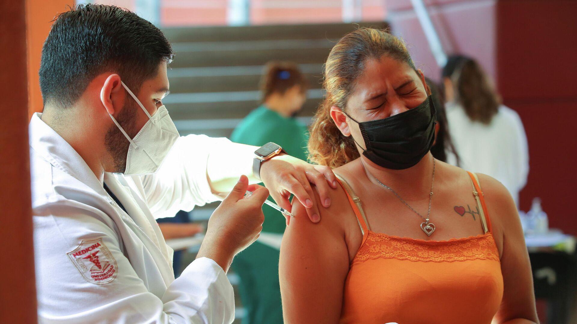 Vacunación contra el coronavirus en la frontera México-EEUU - Sputnik Mundo, 1920, 03.08.2021